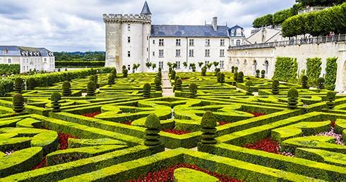 Les jardins extraordinaires des châteaux de la Loire